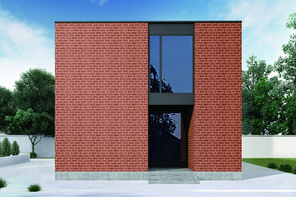 シンプルなデザインと上質な建材が、価値を育む。